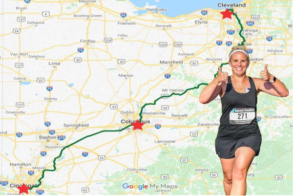 Ohio Cincinnati to Cleveland Virtual Challenge