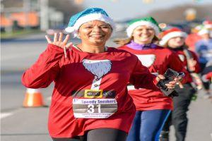 The Santa Race 5k Gahanna Ohio