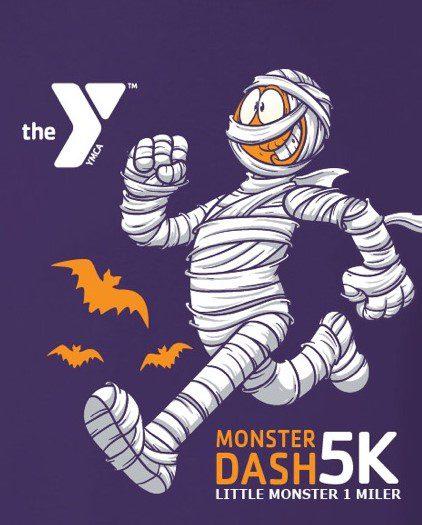 The Gary Herman Memorial Halloween Dash Virtual 5k and Little Monster 1 Miler