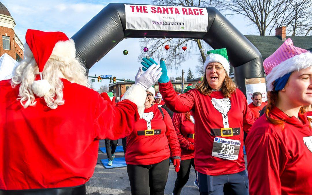 The Santa Race 5k and Little Reindeer Dash